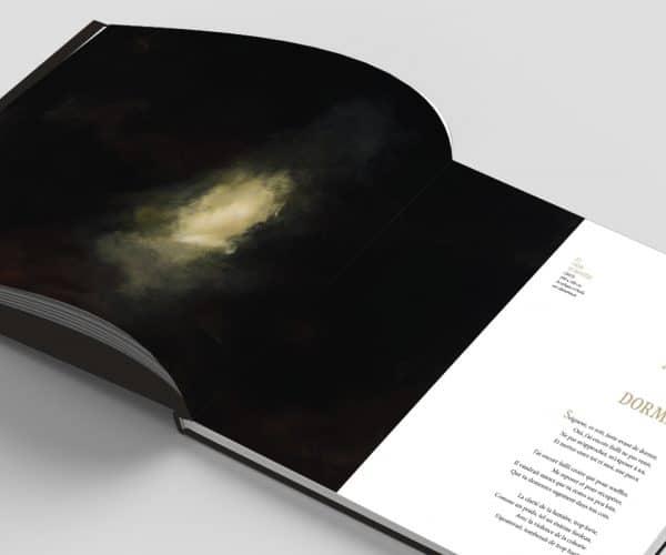 Avant de dormir, un poème du livre Au coeur du Mystère de Benoit de Baenst et Aude Carré-Sourty