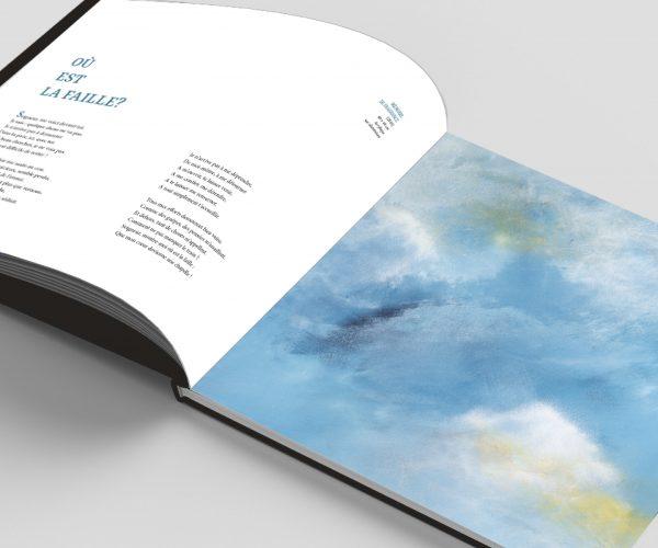 Où est la faille? un poème du livre Au coeur du mystère de Benoit de Baenst et Aude Carré-Sourty